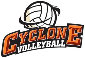 cyclone volleyball logo