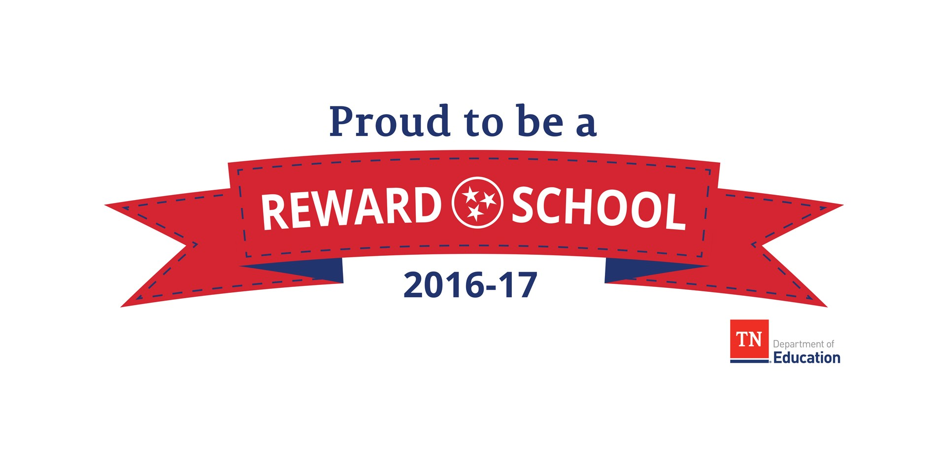 Proud to be a Reward School Banner