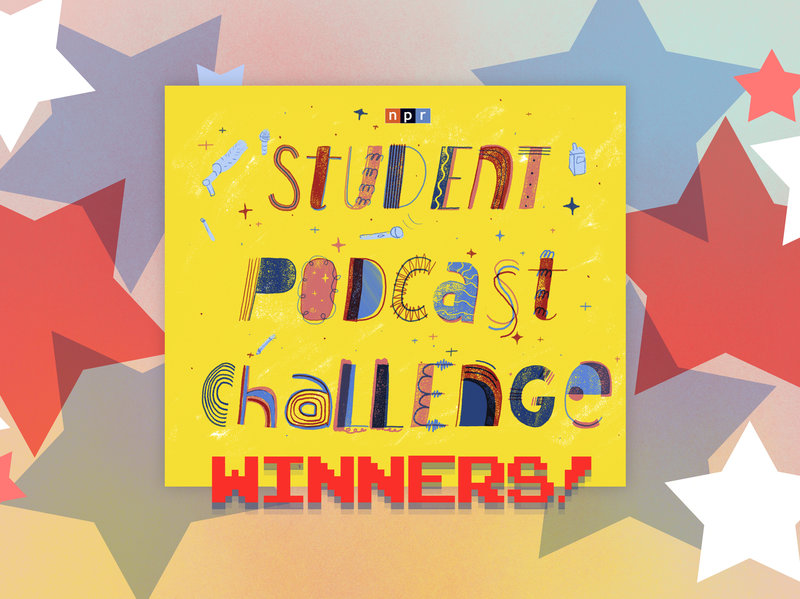 Student Podcast Challenge Winners design