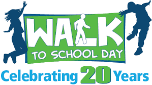 Walk to School Day Logo