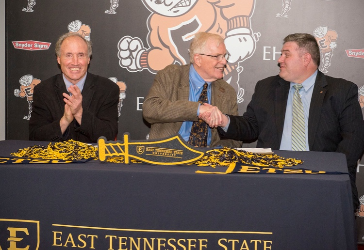 Left to Right: Terry Smith, Dr. Bert Bach, Dr. Corey Gardenhour